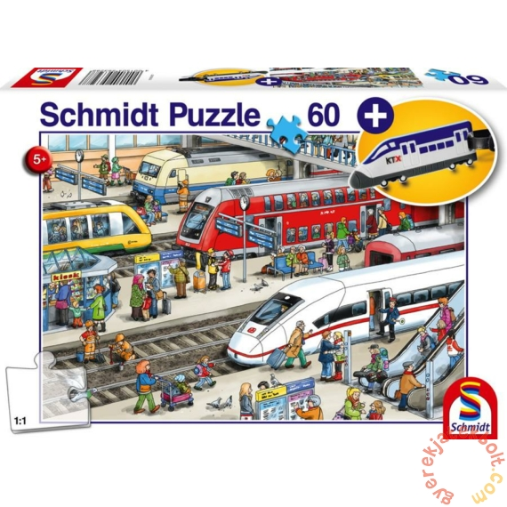Schmidt 60 db-os puzzle - At the train station (56328)