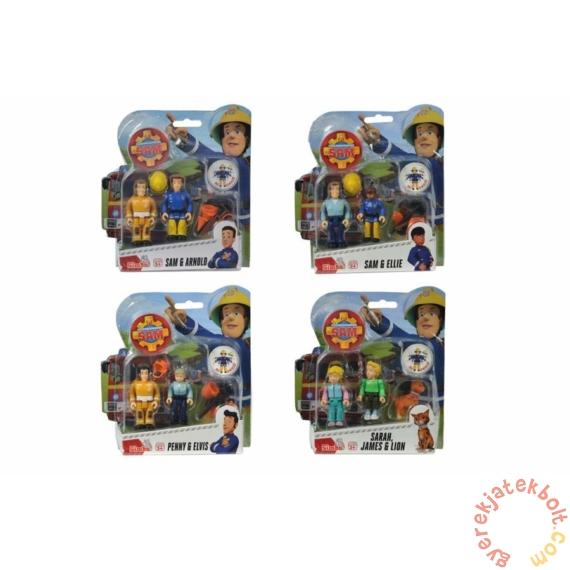 Simba Sam, a tűzoltó figuraszett - Sarah, James és Lion (1026)