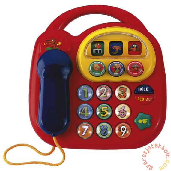 Simba ABC Bébi telefon - piros (4012412)