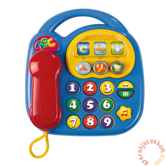 Simba ABC Bébi telefon - kék (4012412)