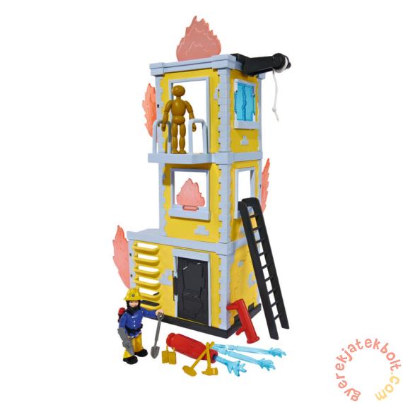 Simba Sam, a tűzoltó gyakorlótorony figurával (7652)