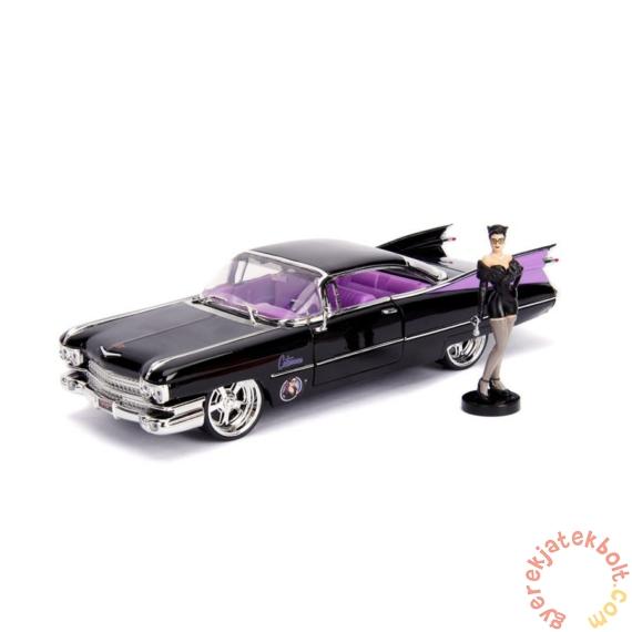DC Comics - Bombshells fém autómodell - Catwoman figurával - 21 cm