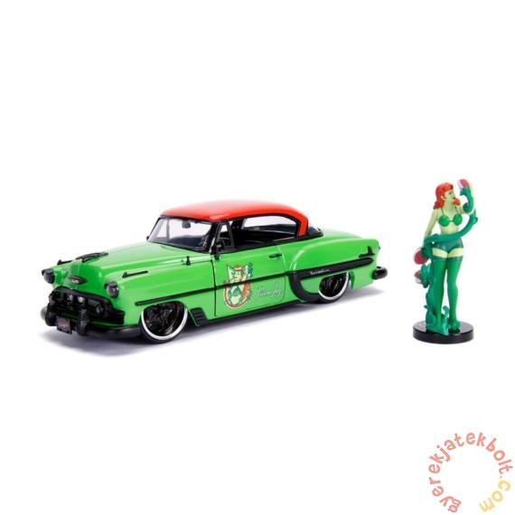 DC Comics - Bombshells fém autómodell - Poison Ivy figurával - 21 cm