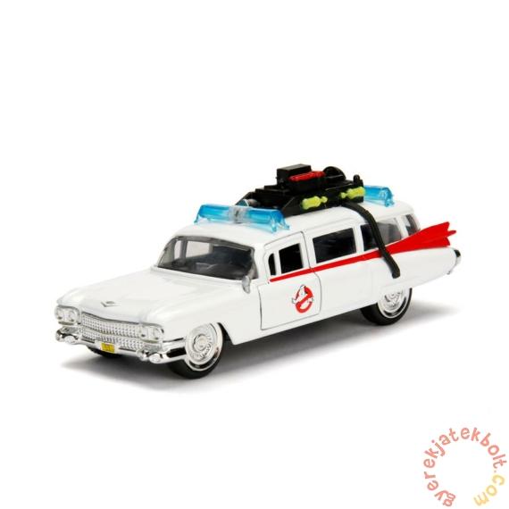 Hollywood Riders fém autómodell - Ghostbusters ECTO-1 - 12 cm