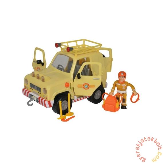 Simba Sam, a tűzoltó - Tom terepjáró autója Sam figurával
