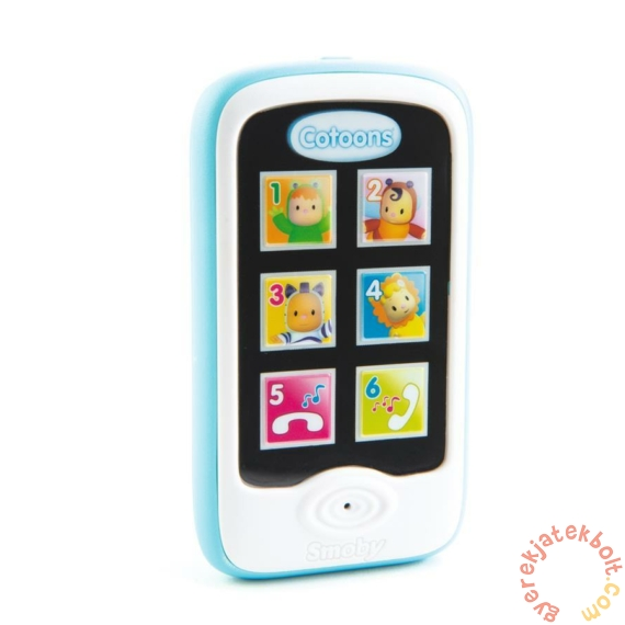 Smoby Cotoons funkciós telefon - kék (110208)