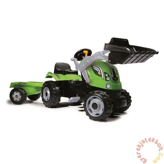Smoby Farmer Max traktor homlokrakodóval (710109)