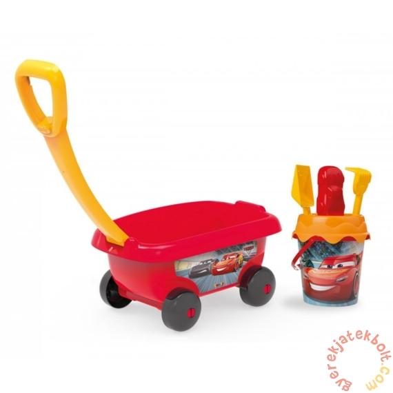 Smoby Homokozó szett kiskocsival - Verdák (867000)