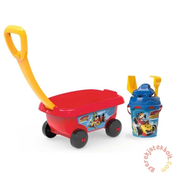 Smoby Homokozó szett kiskocsival - Mickey Mouse (867003)