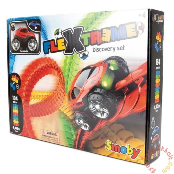 Smoby Flextreme Discovery Set - Flexibilis Autópálya alapszett (180902)