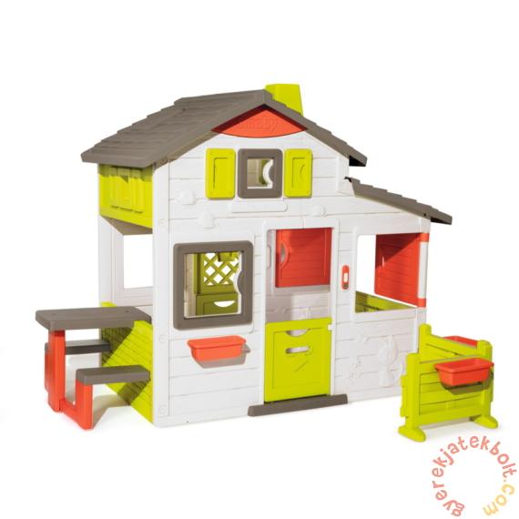 Smoby Neo Jóbarátok háza előkerttel (810203)
