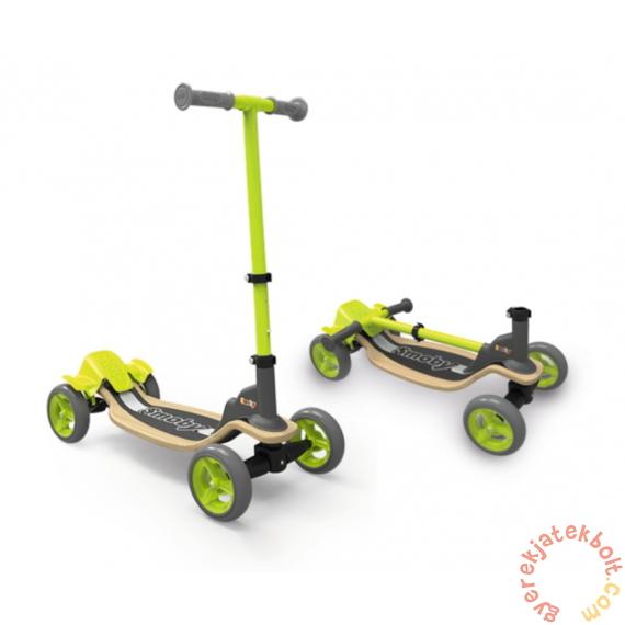 Smoby négykerekű fa roller (750700)
