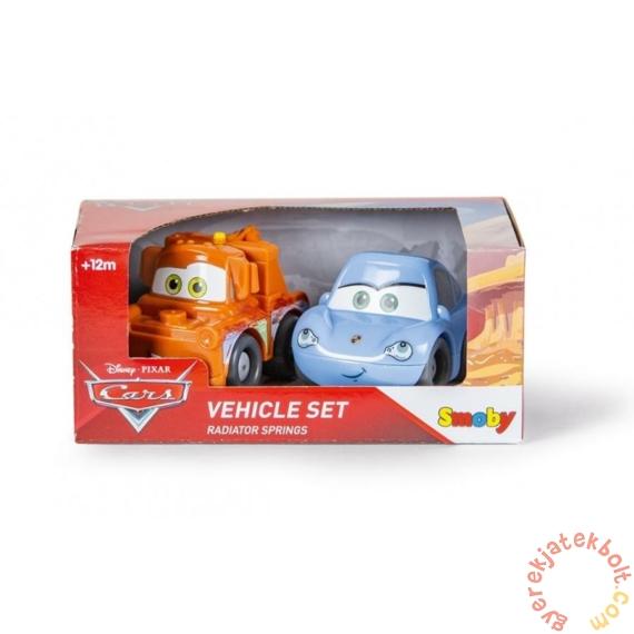 Smoby Vroom Planet 2 db-os műanyag kisautó szett - Verdák - Matuka és Sally