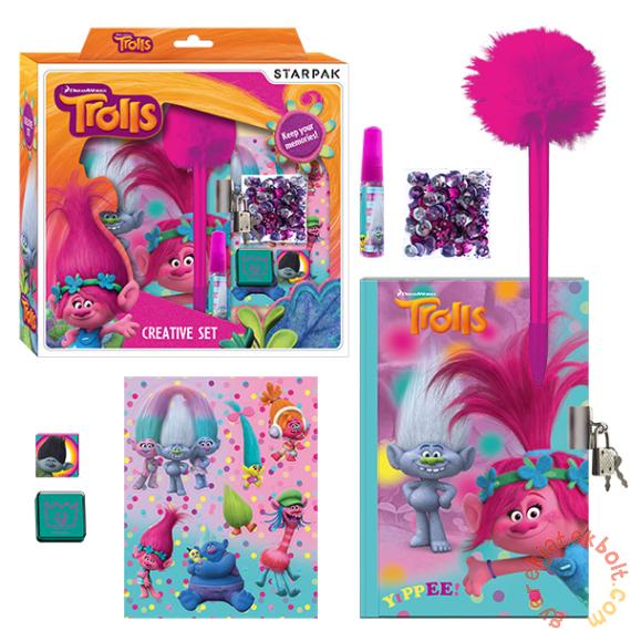Trollok kreatív készlet naplóval (375197)