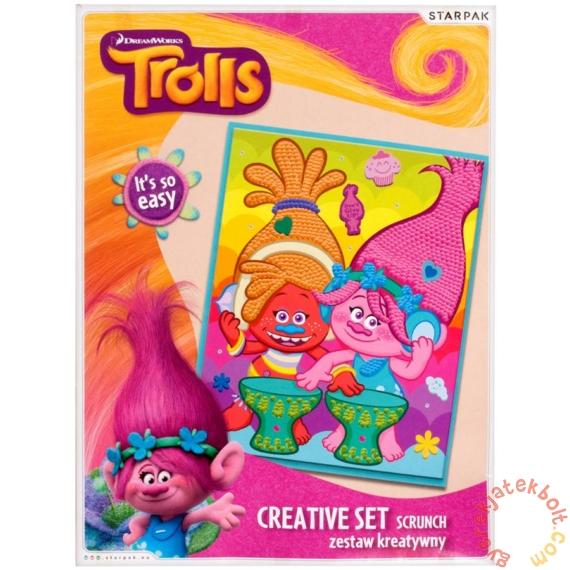 Trollok papírgalacsin kép kreatív szett (391661)