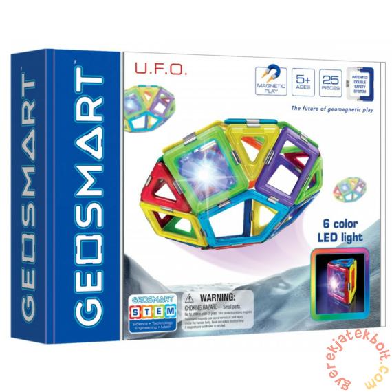 GeoSmart UFO mágneses építőjáték készlet