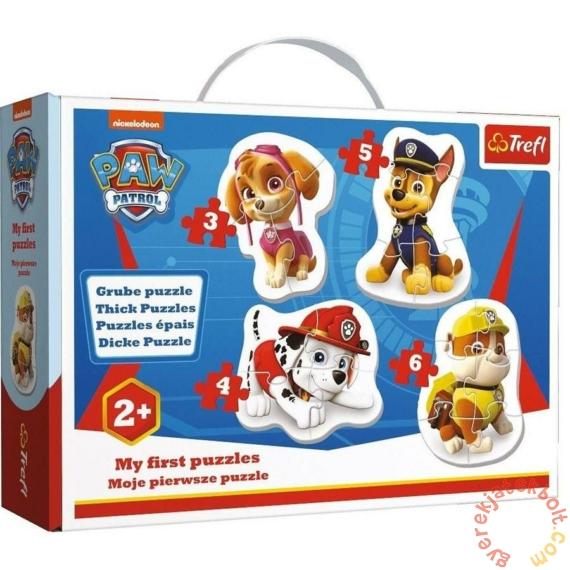Trefl Baby Puzzle táskában - Első puzzle - Mancs őrjárat (36087)