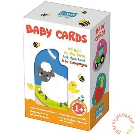 Trefl Baby kártya - A farmon (01619)