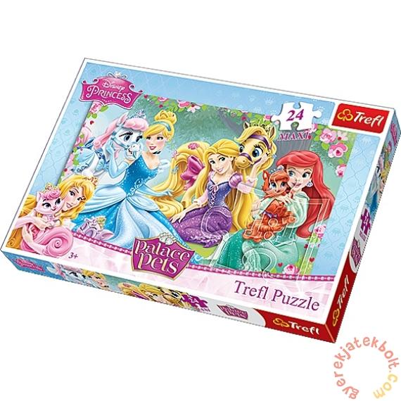 Trefl 24 db-os Maxi puzzle - Disney Princess kedvencek (14223)