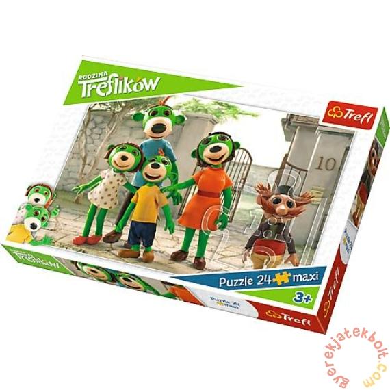Trefl 24 db-os Maxi puzzle - A Treflikow család kalandjai (14247)
