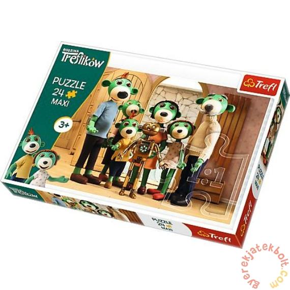 Trefl 24 db-os Maxi puzzle - A Treflikow család kalandjai - Csoportkép (14254)
