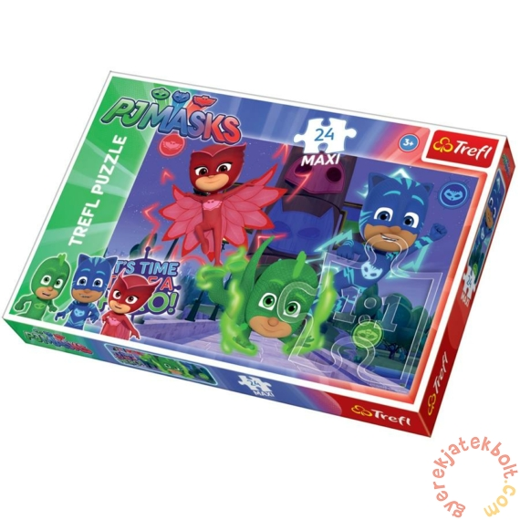 Trefl 24 db-os Maxi puzzle - PJ Masks - Pizsihősök (14262)