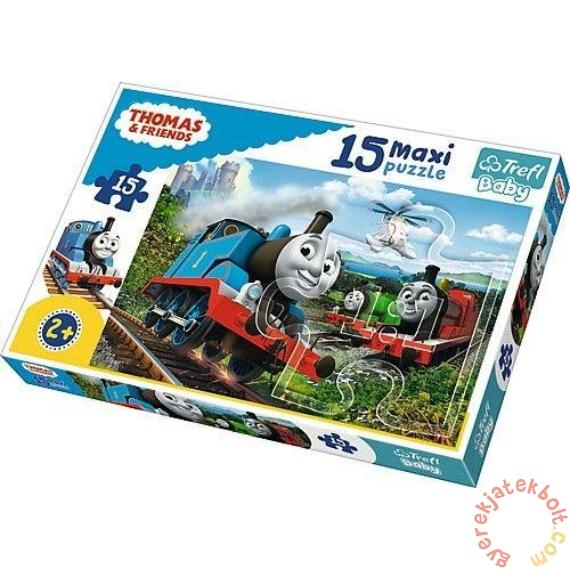 Trefl 15 db-os Baby puzzle - Thomas és barátai (14283)