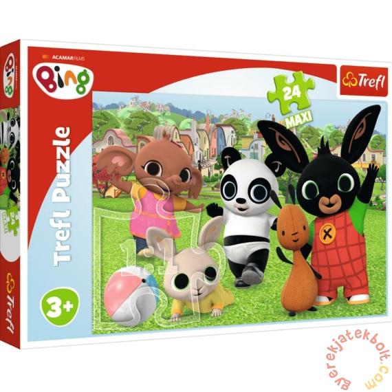 Trefl 24 db-os Maxi puzzle - Bing - Jóbarátok (14306)