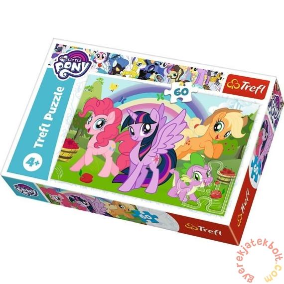 Trefl 60 db-os puzzle - My Little Pony - Szivárány barátság (17323)