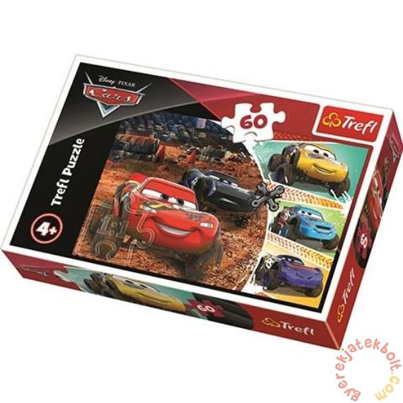 Trefl 60 db-os puzzle - Verdák 3 - Villám McQueen és barátai (17327)