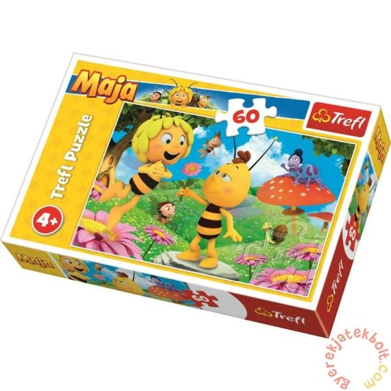 Trefl 60 db-os puzzle - Maja a méhecske - Virágot Majának (17330)