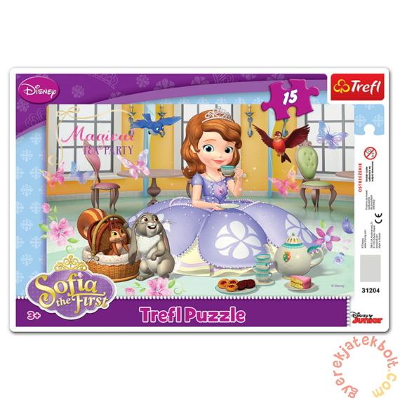 Trefl 15 db-os keretes puzzle - Szófia hercegnő (31204)