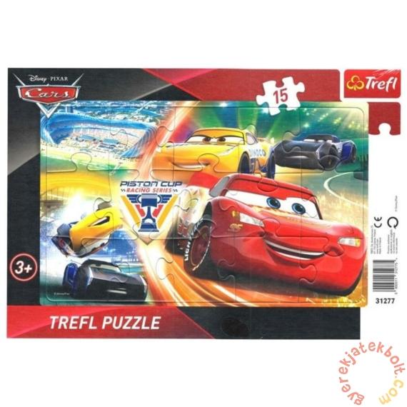 Trefl 15 db-os keretes puzzle - Verdák - Szelep Kupa (31277)