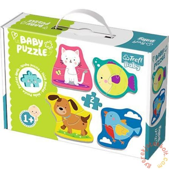 Trefl Baby Puzzle táskában - Első puzzle - Állatok (36074)