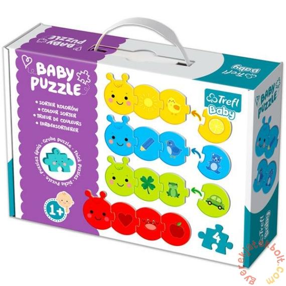 Trefl Baby Puzzle táskában - Oktató puzzle - Színrendező (36079)