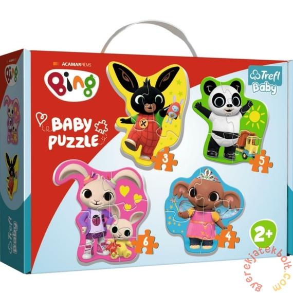Trefl Baby Puzzle táskában - Első puzzle - Bing és barátai (36085)