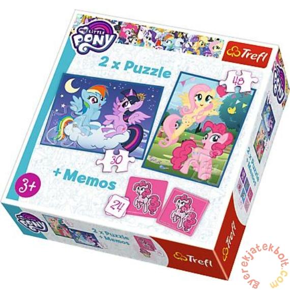 Trefl 2 az 1-ben puzzle és memóriajáték - My Little Pony (90601)