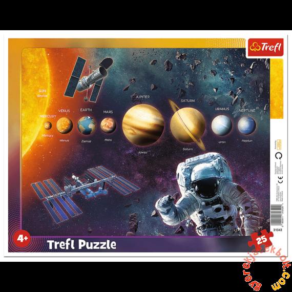 Trefl 25 db-os keretes puzzle - Naprendszer (31342)