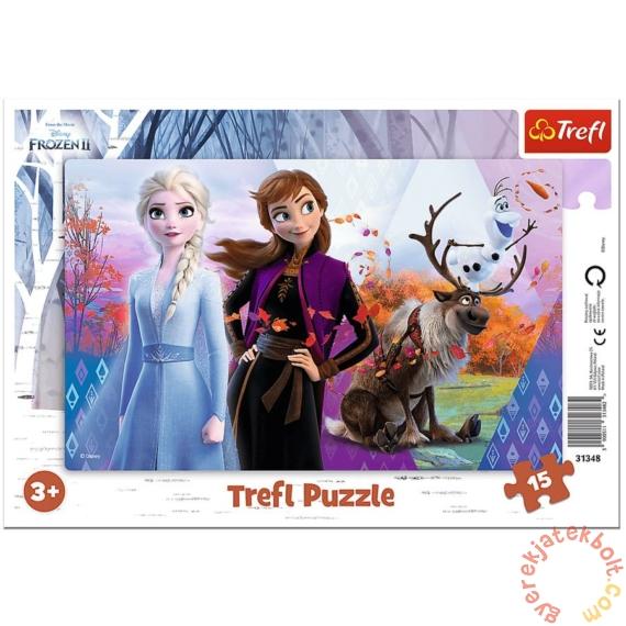 Trefl 15 db-os keretes puzzle - Jégvarázs 2 (31348)