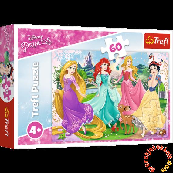 Trefl 60 db-os puzzle - Disney princess - Csodálatos hercegnők (17347)
