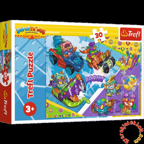 Trefl 30 db-os puzzle - Super Things - A Super Spies csapat (18273)