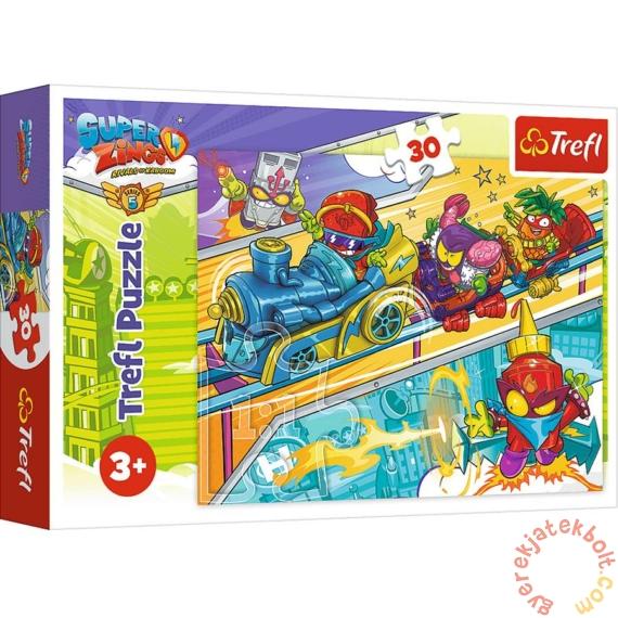 Trefl 30 db-os puzzle - Superzings 5.