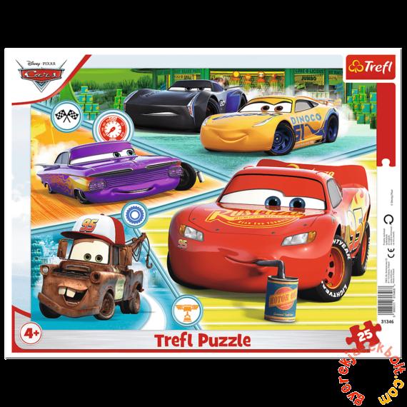Trefl 25 db-os keretes puzzle - Verdák (31346)