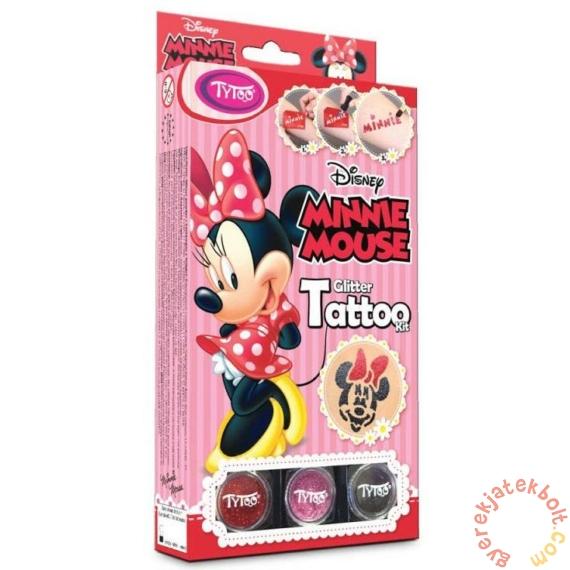TyToo - Minnie Mouse Csillámtetoválás szett (501041)