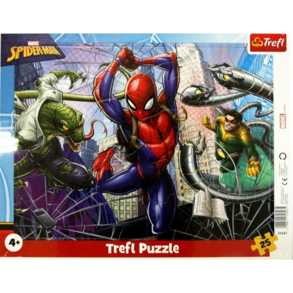 Trefl 25 db-os keretes puzzle - Pókember (31347)