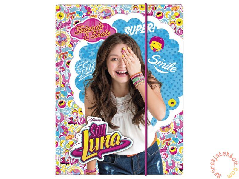 Soy Luna A 4 gumis mappa (TGA4SL) - Gumis mappa 52523d4efa