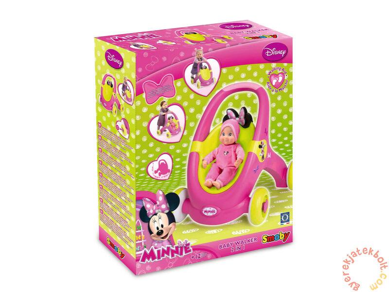 Smoby Minnie Mouse babakocsi és járássegítő (160180) - Járássegítő c11917b4f5