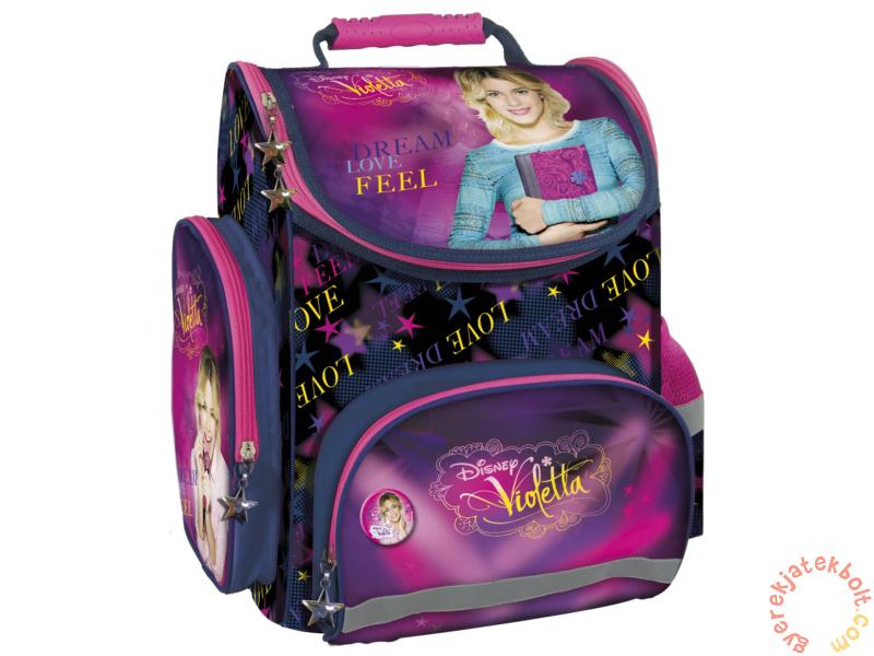 63529a93373c Violetta ergonomikus iskolatáska - Dream, Love, Feel (TEMVI21 ...