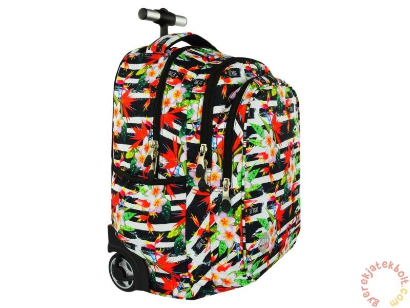 6748112b60 St.Right - Tropical Stripes görgős iskolatáska, hátizsák (618383 ...